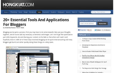 http://www.hongkiat.com/blog/blogging-application-tools/