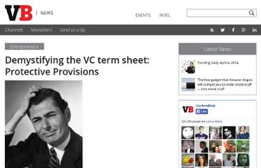 http://venturebeat.com/2011/03/28/demystifying-the-vc-term-sheet-protective-provisions/