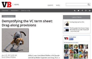 http://venturebeat.com/2011/04/25/demystifying-the-vc-term-sheet-drag-along-provisions/