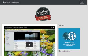 http://wpchannel.com/installer-wordpress-3-local-mamp/