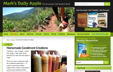 http://www.marksdailyapple.com/alternative-healthy-condiment-recipes/