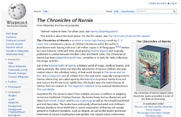http://en.wikipedia.org/wiki/The_Chronicles_of_Narnia