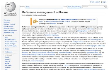 http://en.wikipedia.org/wiki/Reference_management_software