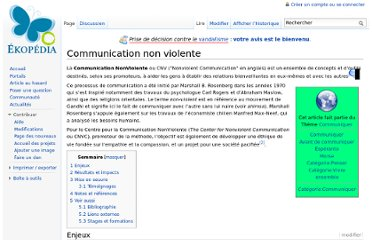 http://fr.ekopedia.org/Communication_non_violente