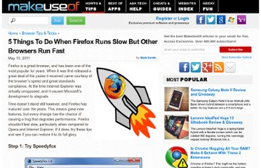 http://www.makeuseof.com/tag/5-firefox-runs-slow-browsers-run-fast/