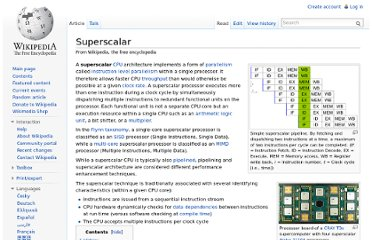 http://en.wikipedia.org/wiki/Superscalar