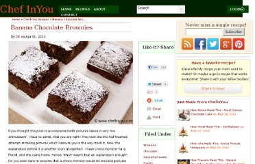 http://chefinyou.com/2010/04/banana-chocolate-brownies/