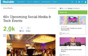 http://mashable.com/2011/05/09/social-media-tech-events-7/