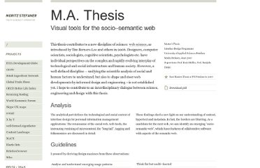 http://moritz.stefaner.eu/write-talk/ma-thesis-visual-tools/