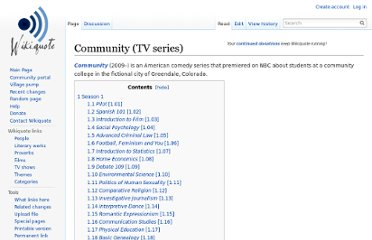 http://en.wikiquote.org/wiki/Community_(TV_series)