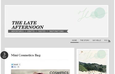 http://www.thelateafternoon.com/mini-cosmetics-bag