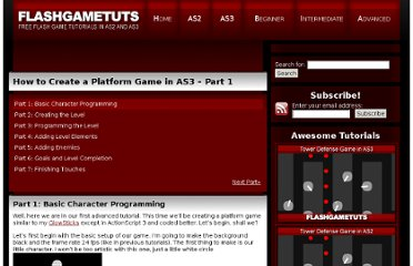 http://www.flashgametuts.com/tutorials/advanced/how-to-create-a-platform-game-in-as3-part-1/