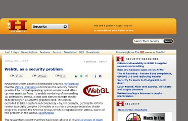 http://www.h-online.com/security/news/item/WebGL-as-a-security-problem-1240567.html