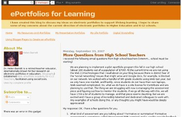 http://blog.helenbarrett.org/2007/09/more-questions-from-high-school.html
