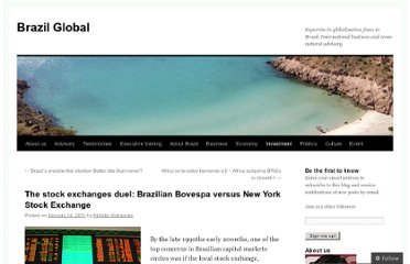 http://brazilglobal.net/2011/01/14/the-stock-exchanges-duel-brazilian-bovespa-versus-new-york-stock-exchange/