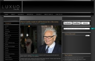 http://www.luxuo.com/luxury-trends/pierre-cardin-wants-to-sell-business.html