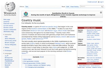 http://en.wikipedia.org/wiki/Country_music