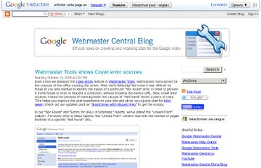 http://googlewebmastercentral.blogspot.com/2008/10/webmaster-tools-shows-crawl-error.html