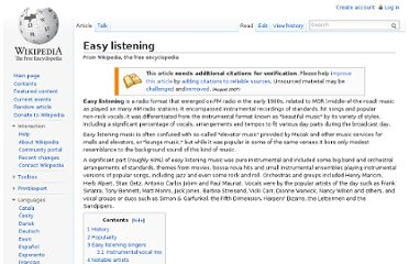 http://en.wikipedia.org/wiki/Easy_listening