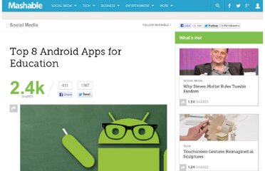 http://mashable.com/2011/05/12/android-education-apps/