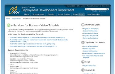 http://www.edd.ca.gov/Payroll_Taxes/e-Services_for_Business_Tutorials.htm