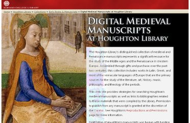 http://hcl.harvard.edu/libraries/houghton/collections/early_manuscripts/index.html