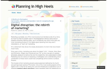 http://planninginhighheels.com/2011/05/12/digital-disruption-the-rebirth-of-marketing/