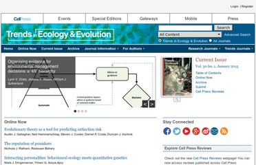 http://www.cell.com/trends/ecology-evolution/home