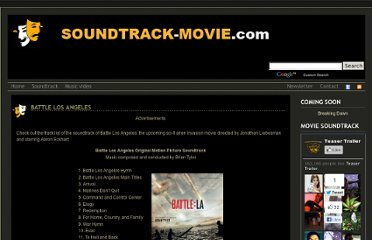 http://soundtrack-movie.com/battle-los-angeles/