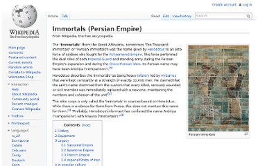 http://en.wikipedia.org/wiki/Immortals_(Persian_Empire)