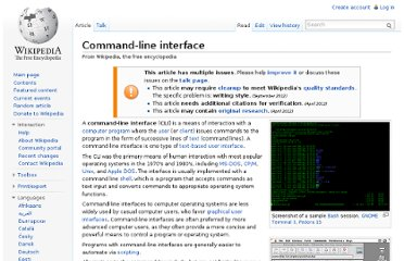 http://en.wikipedia.org/wiki/Command-line_interface