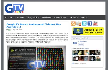 http://gtvsource.com/2011/05/11/google-tv-device-codenamed-fishtank-has-android-3-1/