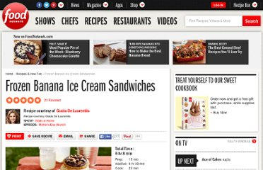 http://www.foodnetwork.com/recipes/frozen-banana-ice-cream-sandwiches-recipe2/index.html