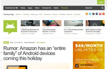 http://androidandme.com/2011/05/news/rumor-amazon-has-an-entire-family-of-android-devices-coming-this-holiday/