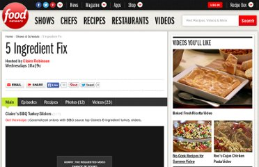 http://www.foodnetwork.com/5-ingredient-fix/index.html