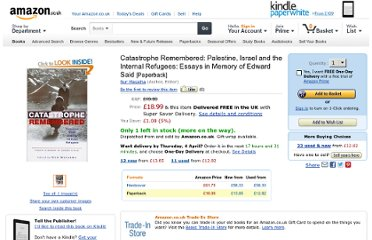 http://www.amazon.co.uk/Catastrophe-Remembered-Palestine-Internal-Refugees/dp/1842776231