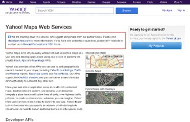 http://developer.yahoo.com/maps/