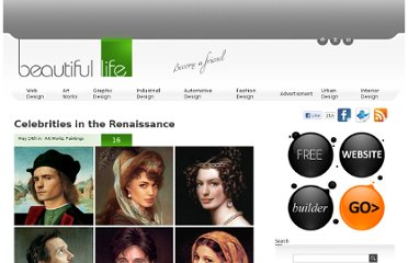 http://www.beautifullife.info/art-works/celebrities-in-the-renaissance/