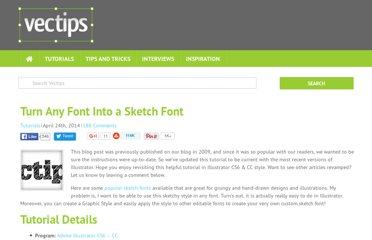 http://vectips.com/tutorials/turn-any-font-into-a-sketch-font/