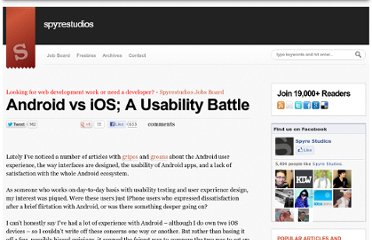 http://spyrestudios.com/android-vs-ios-a-usability-battle/