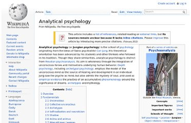 http://en.wikipedia.org/wiki/Analytical_psychology