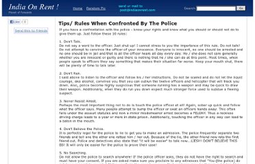 http://www.indiaonrent.com/view/t/tips-rules-when-confronted-by-the-police.html