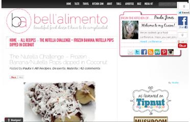 http://www.bellalimento.com/2009/11/01/the-nutella-challenge-frozen-banananutella-pops-dipped-in-coconut/