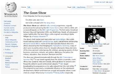 http://en.wikipedia.org/wiki/The_Goon_Show