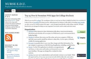 http://nursingeducation.net/top-25-free-freemium-web-apps-for-college-students.html