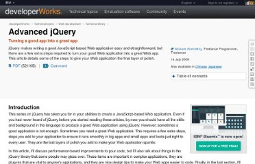 http://www.ibm.com/developerworks/web/library/wa-aj-advjquery2/index.html