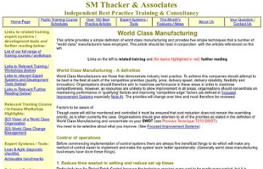 http://www.smthacker.co.uk/world_class_manufacturing.htm