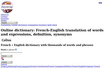 http://dictionary.reverso.net/french-english/