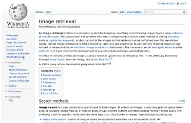 http://en.wikipedia.org/wiki/Image_retrieval