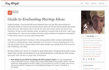 http://www.tonywright.com/2010/guide-to-evaluating-startup-ideas/